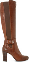 Dune Scout leather thigh-high boots