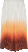 J.W.Anderson Ombre Pleated Skirt
