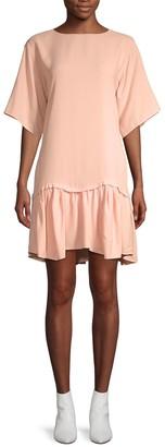 Chloé Ruffle Shift Dress