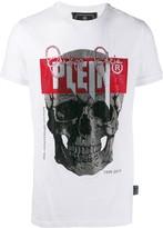 Philipp Plein T-shirt platinum cut skull