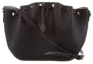 Alaia Arabesque Studded Bucket Bag