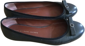 Marc by Marc Jacobs Green Leather Ballet flats