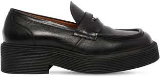 Marni New Forest Coin Leather Penny Loafers