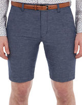 Ben Sherman Tonic Cotton-Linen Shorts