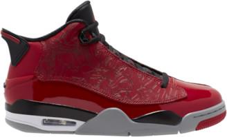 Jordan Dub Zero Basketball Shoes - Gym Red / Black Partical Grey White