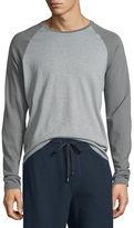 Vince Colorblock Raglan-Sleeve Baseball Shirt