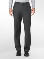 Calvin Klein Classic Fit Black Tick Suit Pants