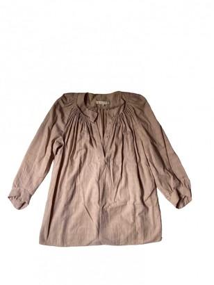 Vanessa Bruno Pink Cotton Top for Women