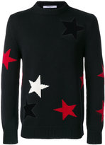 Givenchy star cutout sweater