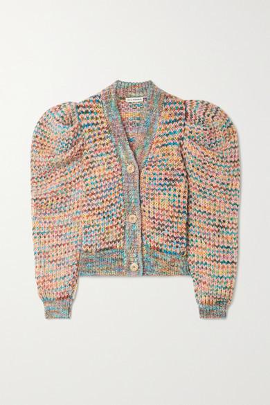 Ulla Johnson Fiora Knitted Cardigan - Gray