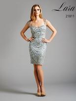 Lara Dresses - 21811 in Silver