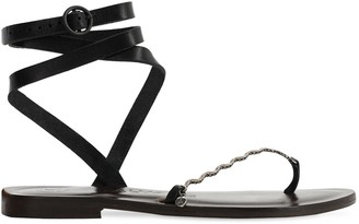 Álvaro González 10mm Leather Sandal
