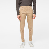 Paul Smith Men's Slim-Fit Tan Stretch Cotton-Twill Trousers