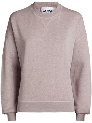 Ganni Crew-Neck Sweatshirt