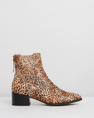 Mollini Deka Leather Ankle Boots