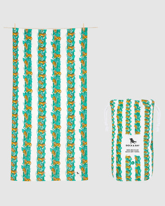 Dock & Bay Extra Large Beach Towel 100% Recycled Jungle Collection