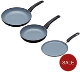 Master Class 3-Piece Ceramic Non-Stick Induction Ready Eco Frying Pans