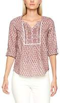 Fat Face Women's Poppy Country Floral Popover Blouse