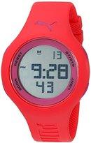 Puma Unisex PU910801034 Loop Pink and Purple Digital Watch