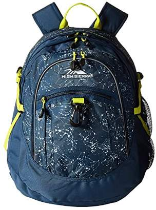 High Sierra Fatboy Backpack (Unicorn Clouds/Lavender/White) Backpack Bags