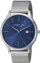 Kenneth Cole New York Men's 'Classic' Quartz Stainless Steel Dress Watch