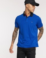 Tommy Hilfiger Tommy Hilifger sport gibson logo polo in navy