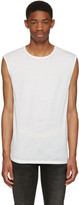 BLK DNM White Relaxed Muscle 57 T-Shirt
