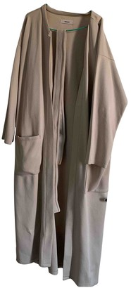 Humanoid Beige Cotton Jacket for Women