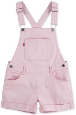 Levi's Cotton Denim Boyfriend Shortall, Big Girls