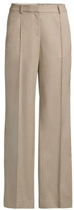 Lafayette 148 New York Winthrop Micro Check Pants