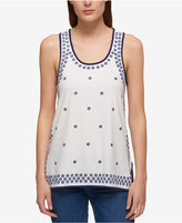 Tommy Hilfiger Cotton Printed Tank Top, Only at Macy's