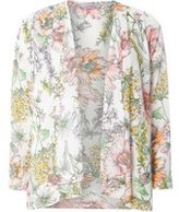 Dorothy Perkins Womens Petite Ivory Floral Cover Up- White