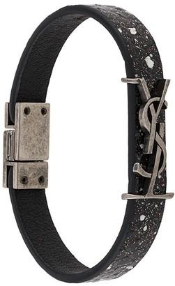 Saint Laurent Opyum glitter-detail bracelet
