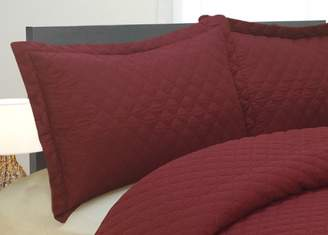 Natural Comfort Luxury Lines Microfiber Quilted Bedding Set