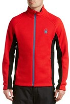 Spyder Constant Full Zip Tailored Fit Mid Weight Jacket.