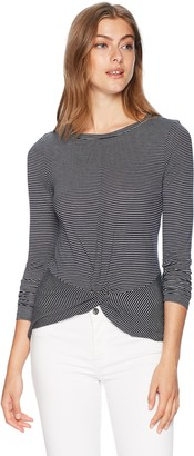 Vero Moda Women's Connie Long Sleeve Top with Knot Detail