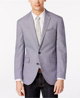 Kenneth Cole Reaction Men's Light Blue Soft Slim Fit Jacket