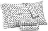 Charter Club Damask Designs Printed Geo Extra Deep Queen 4-pc Sheet Set, 550 Thread Count, Created for Macy's