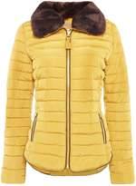 Joules Long Sleeve High Neck Short Padded Coat