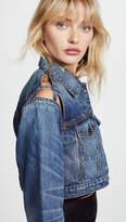 Iro . Jeans IRO.JEANS Kiss Cropped Denim Jacket