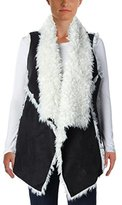 Sanctuary Women's Voila Faux Angora Vest