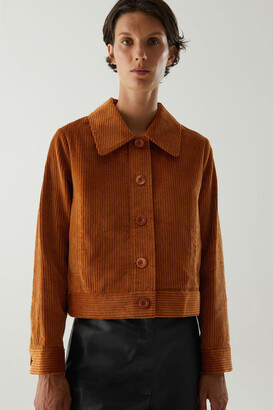 Cos Organic Cotton Corduroy Workwear Jacket
