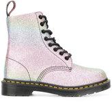 Dr. Martens Glitter Pascal boots - women - Nylon/Polyurethane/Sequin - 40
