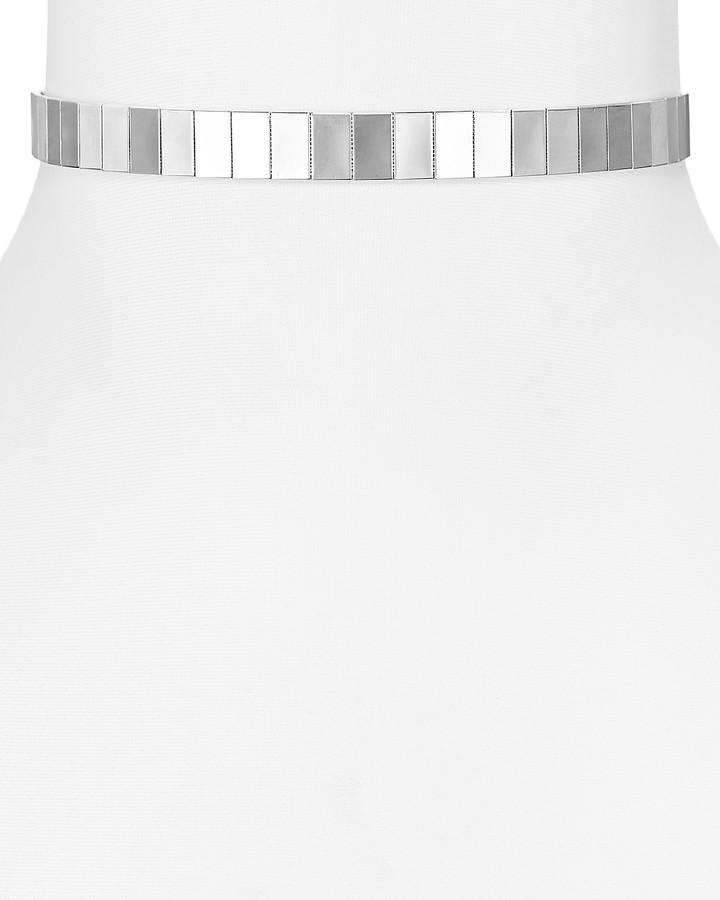 Aqua Jamie Choker Necklace, 11.5 - 100% Exclusive