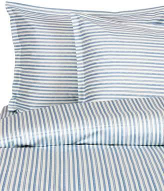Melange Home 400 Thread Count Cotton Bamboo Stripe 3-Piece Duvet Set