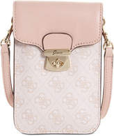 GUESS Jacqui Chit Chat Mini Phone Signature Crossbody