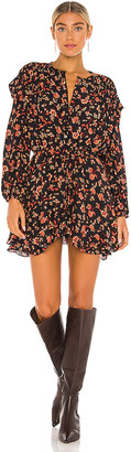 Free People Flower Fields Mini Dress