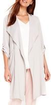 Wallis Women's Marcel Drape Front Long Jacket