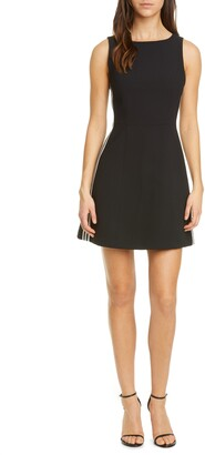 Alice + Olivia Lindsey Structured Fit & Flare Dress