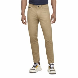Kenneth Cole Men's Mid Rise Straight Leg Mobility Pant